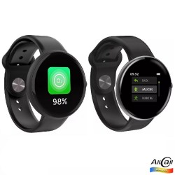 AllCall AC01, Bratara Smart, LCD Touch Screen 1.3 inch, Ritm Cardiac, Fitness Tracker, Bluetooth 4.0, IP68 Waterproof, 150 mAh